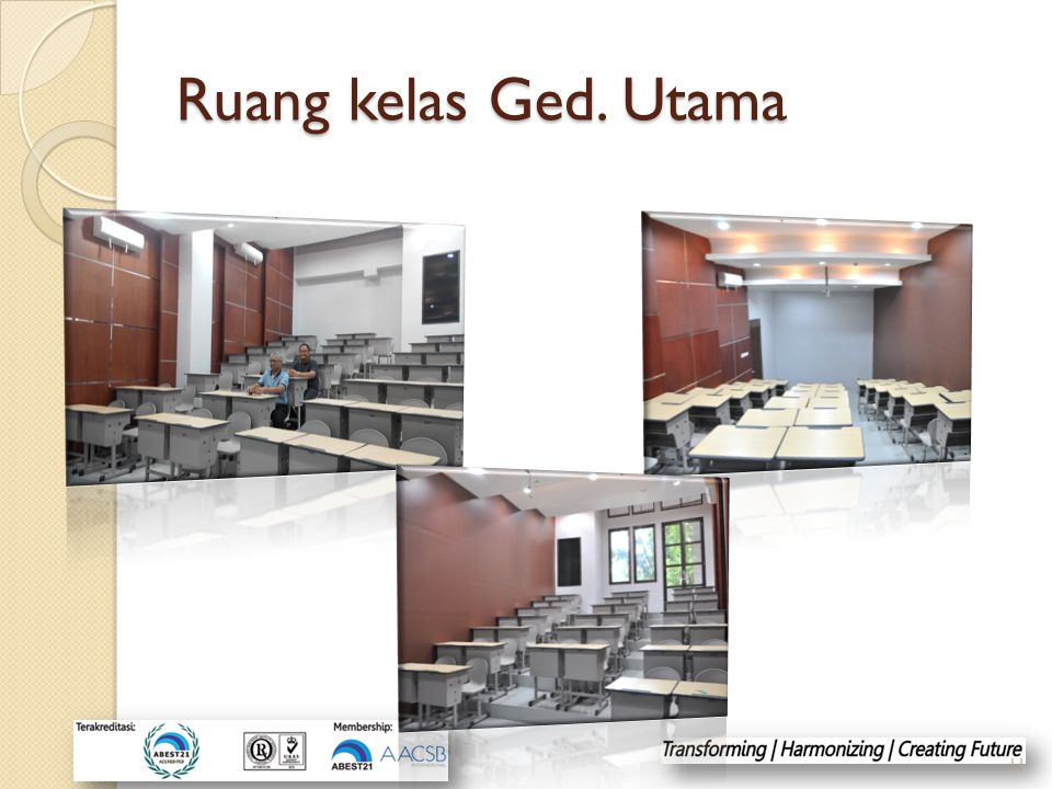 Ruang kelas Ged. Utama