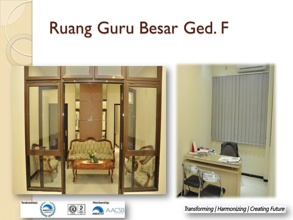 Ruang Guru Besar Ged. F