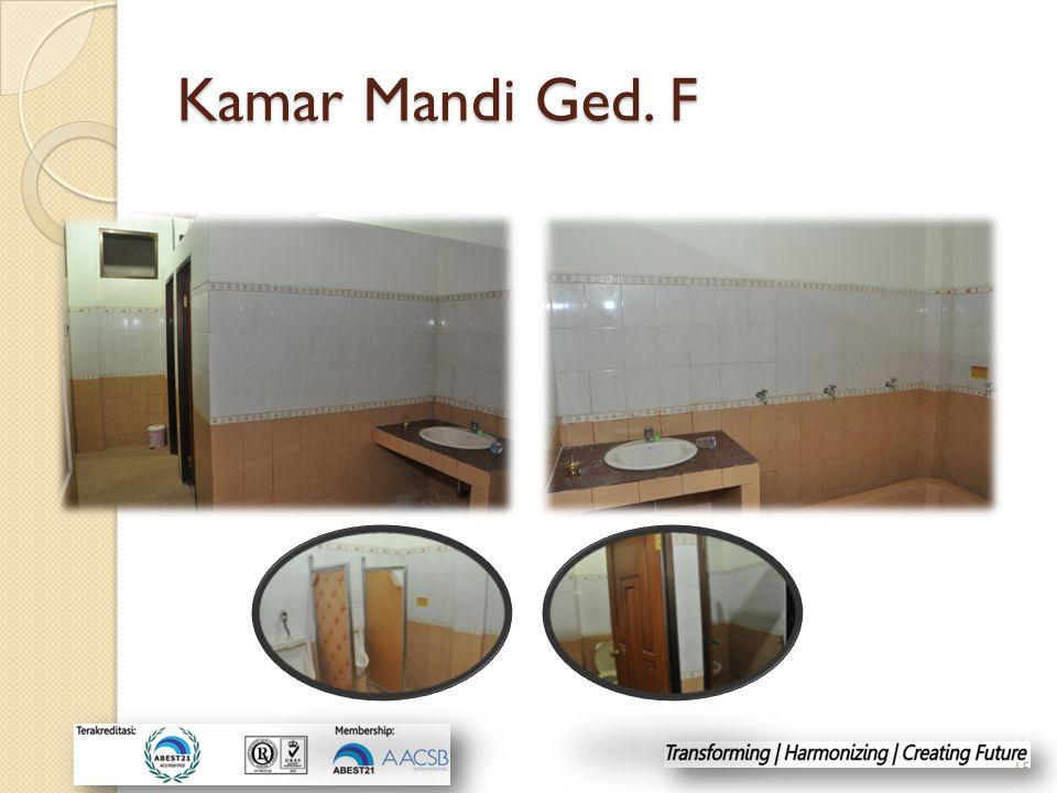 Kamar Mandi Ged. F