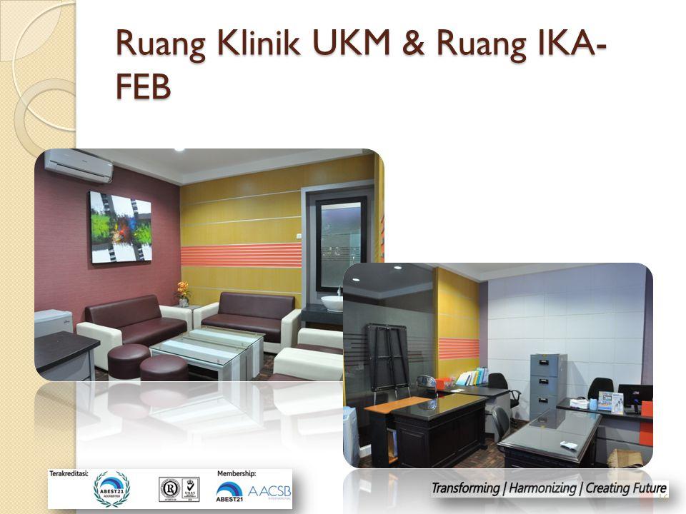 Ruang Klinik UKM & Ruang IKA-FEB