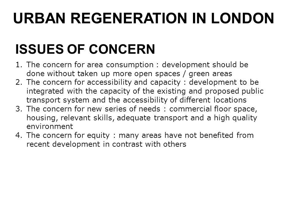 URBAN REGENERATION IN LONDON