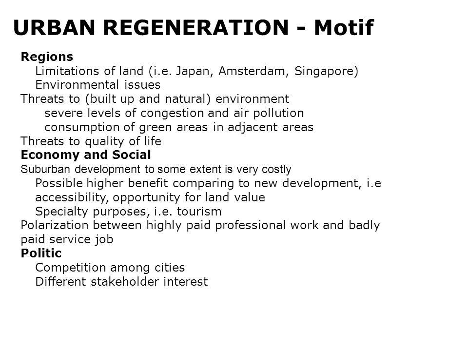 URBAN REGENERATION - Motif