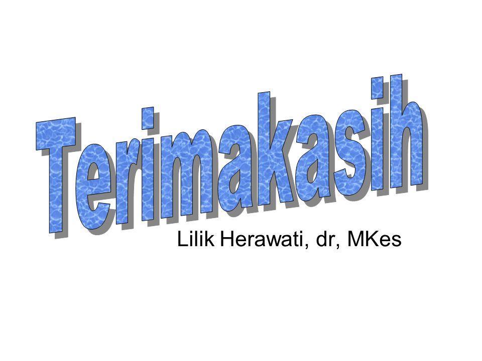 Terimakasih Lilik Herawati, dr, MKes