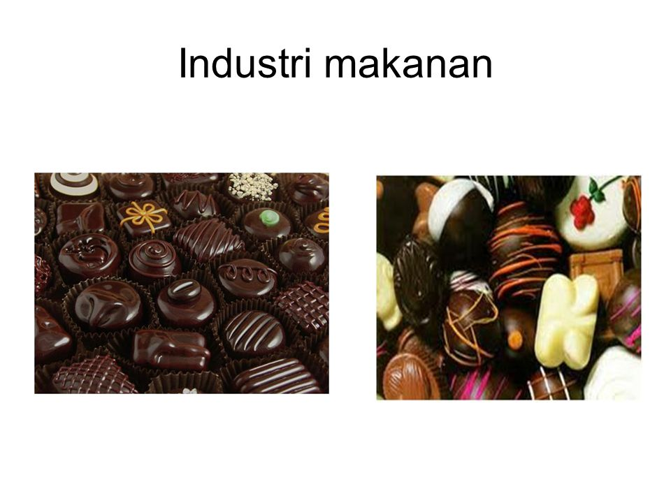 Industri makanan