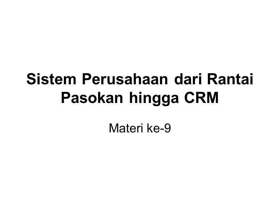 Sistem Perusahaan dari Rantai Pasokan hingga CRM
