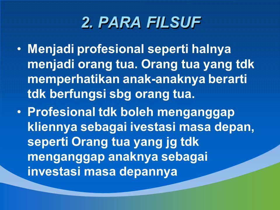 2. PARA FILSUF