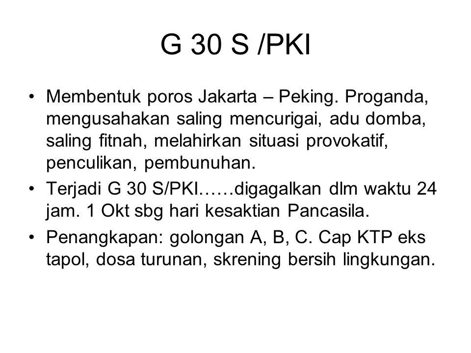 G 30 S /PKI