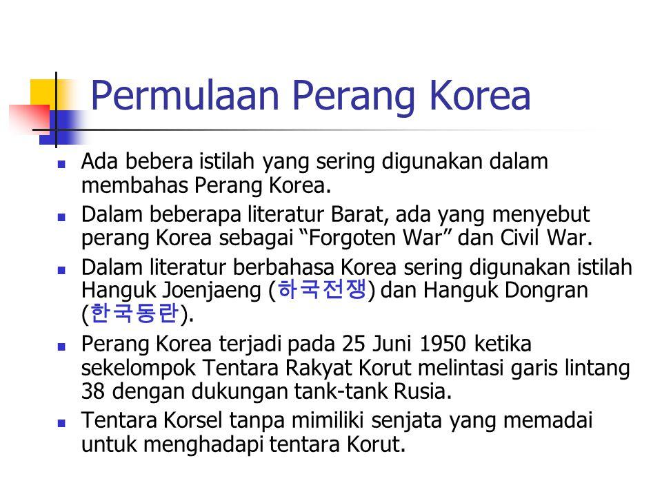 Permulaan Perang Korea