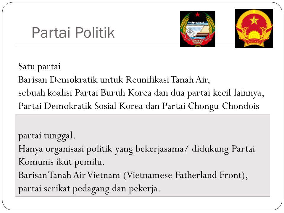 Partai Politik Satu partai