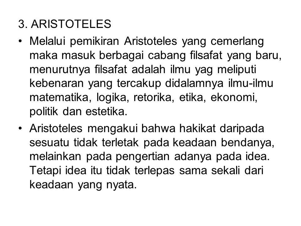 3. ARISTOTELES