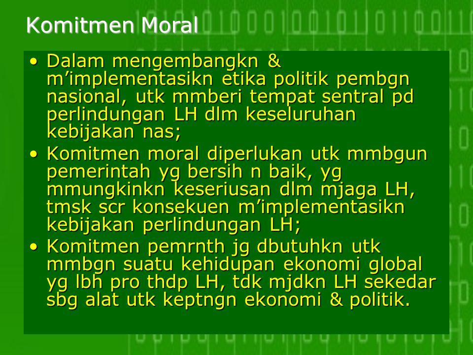 Komitmen Moral