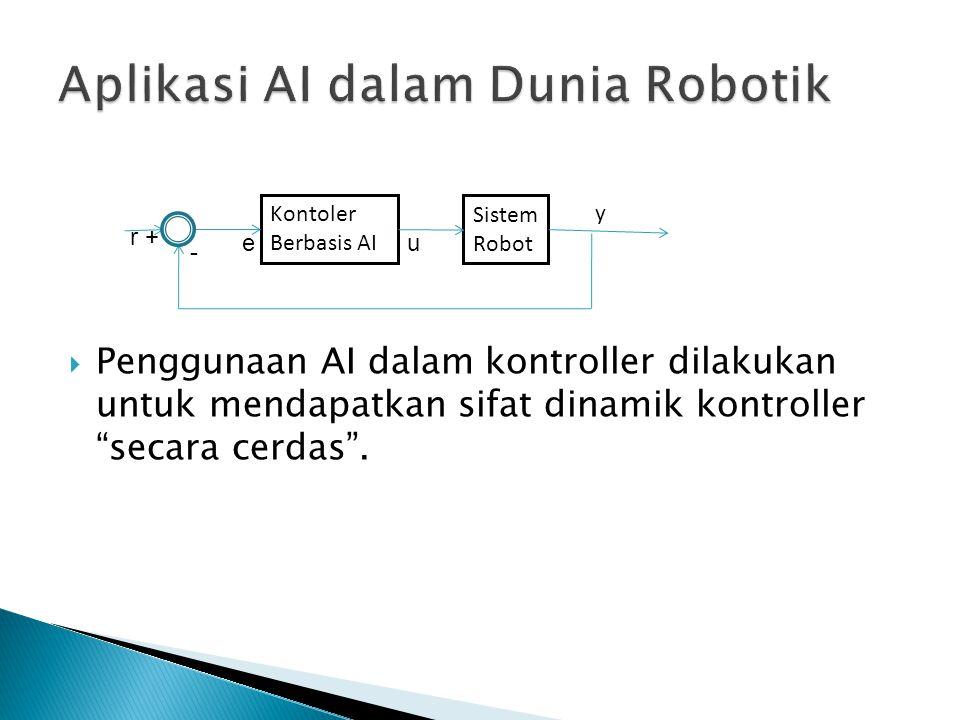 Aplikasi AI dalam Dunia Robotik