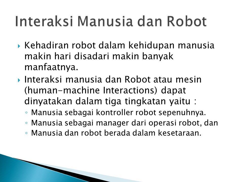 Interaksi Manusia dan Robot