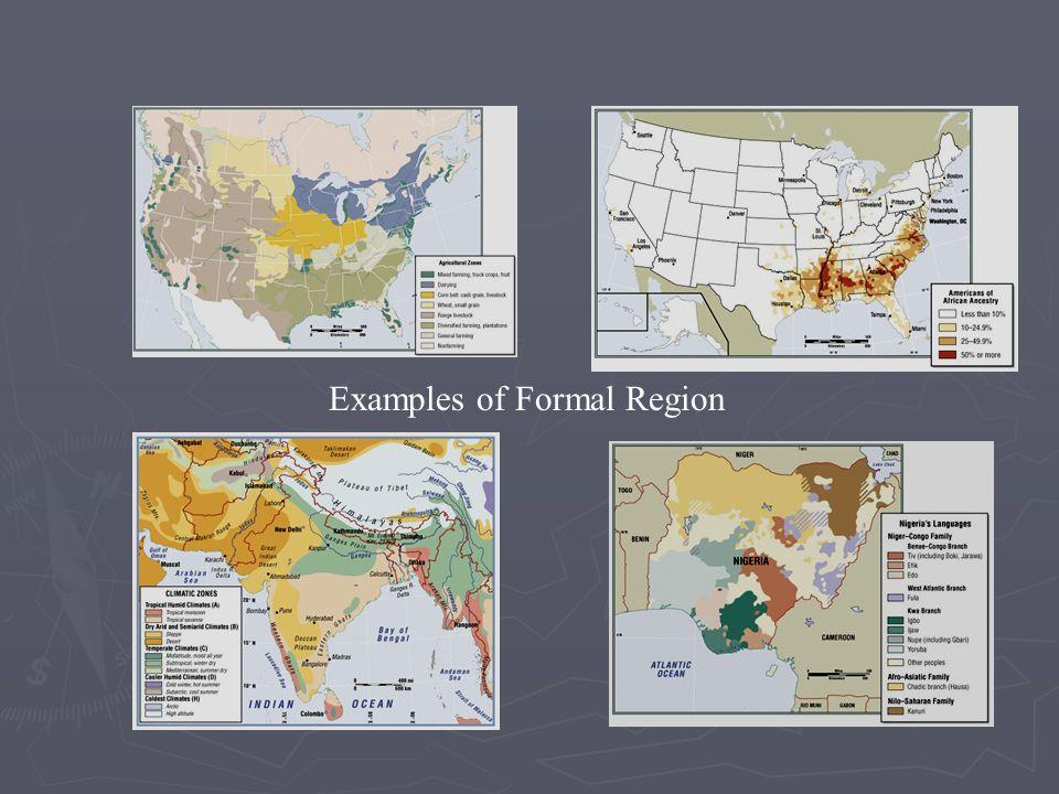 Examples of Formal Region
