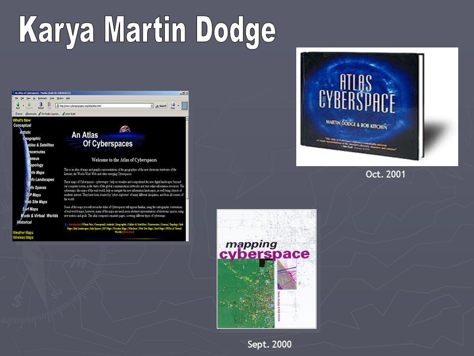 Karya Martin Dodge Oct. 2001 Sept. 2000