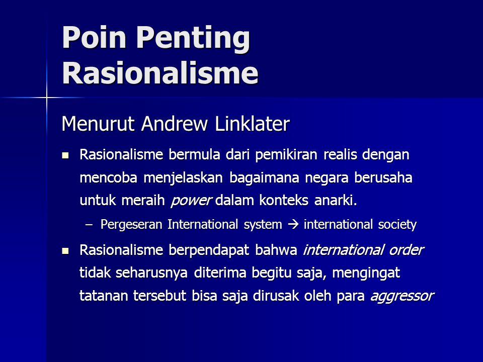 Poin Penting Rasionalisme