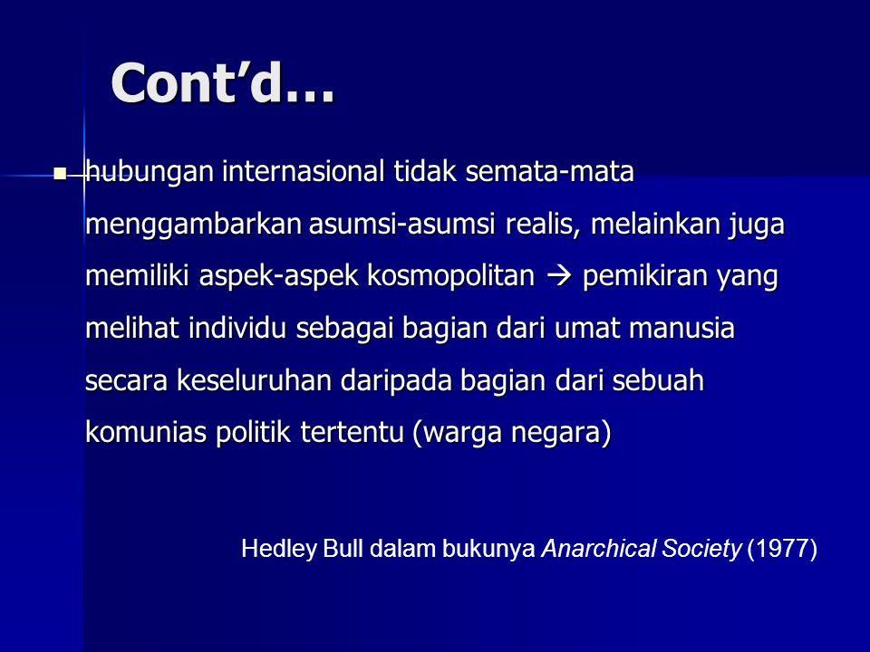 Cont'd…