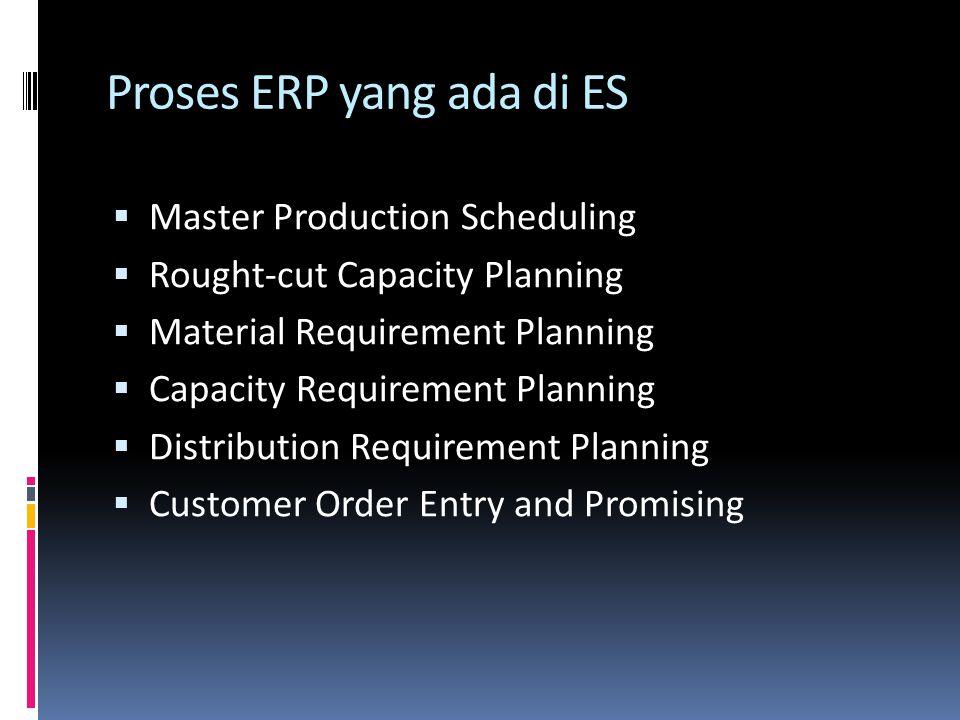 Proses ERP yang ada di ES