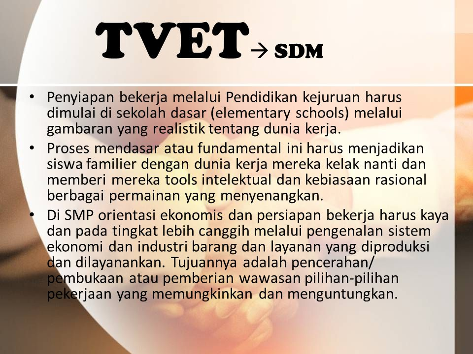 TVET SDM
