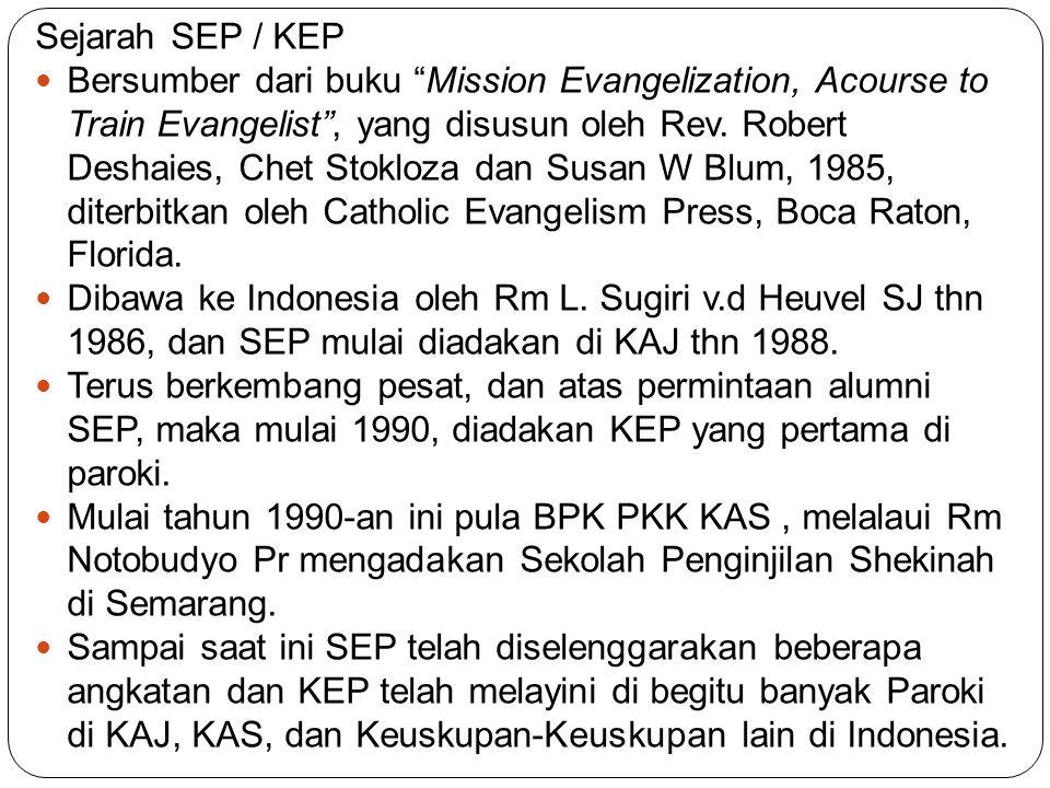 Sejarah SEP / KEP