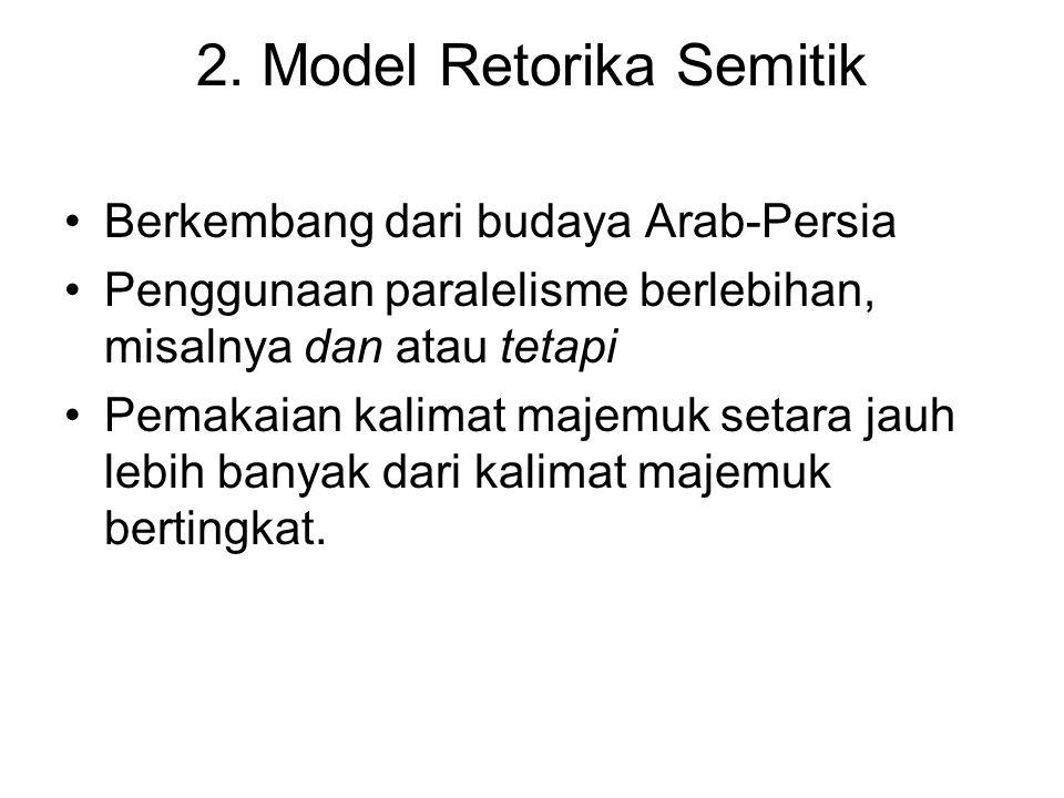 2. Model Retorika Semitik