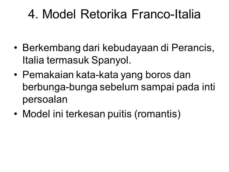 4. Model Retorika Franco-Italia
