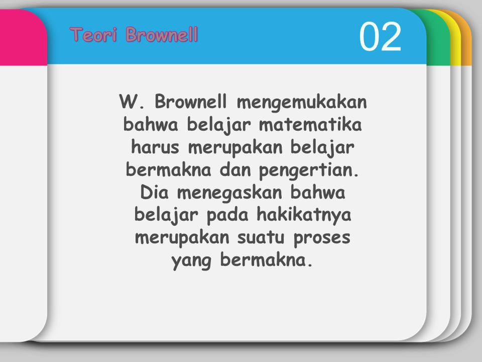 Teori Brownell 02.
