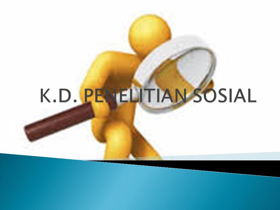 K.D. PENELITIAN SOSIAL