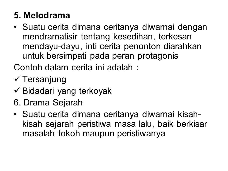 5. Melodrama