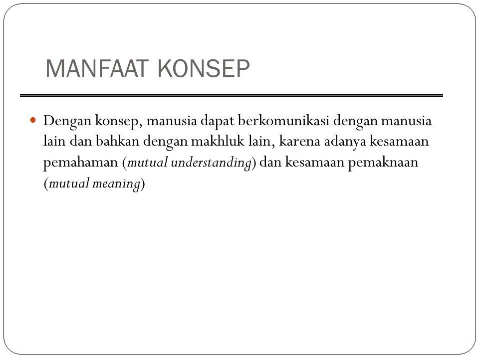 MANFAAT KONSEP