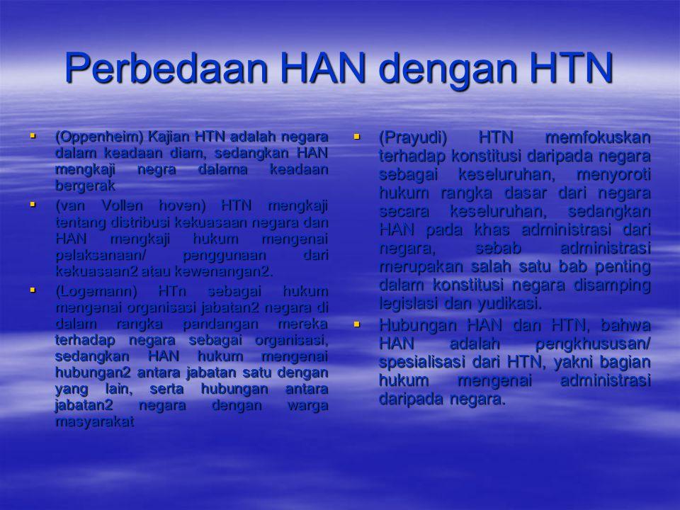 Perbedaan HAN dengan HTN