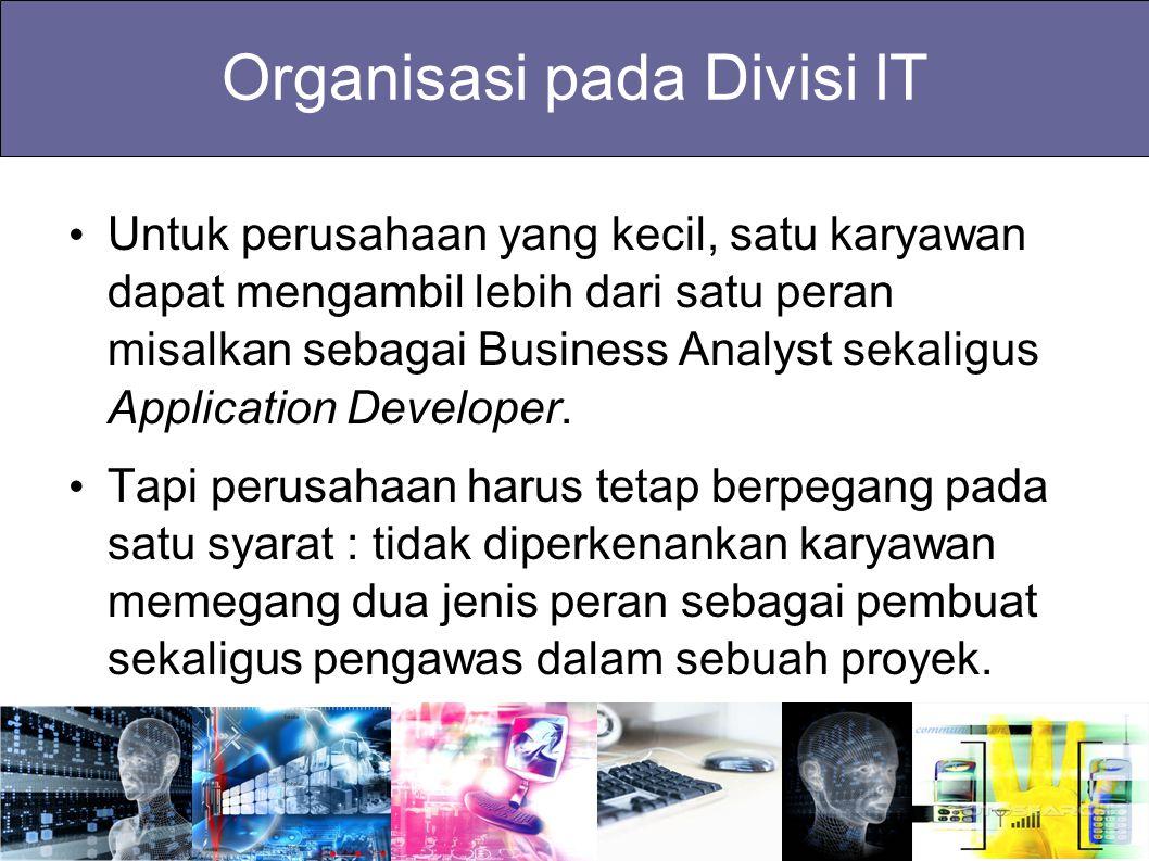 Organisasi pada Divisi IT