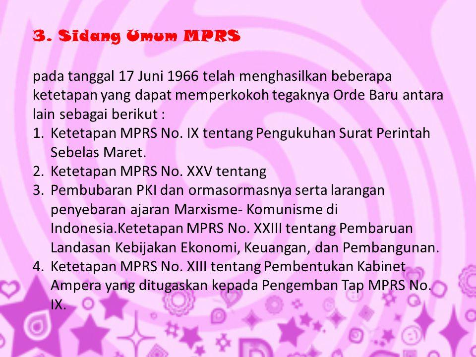 3. Sidang Umum MPRS