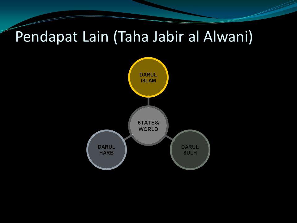 Pendapat Lain (Taha Jabir al Alwani)