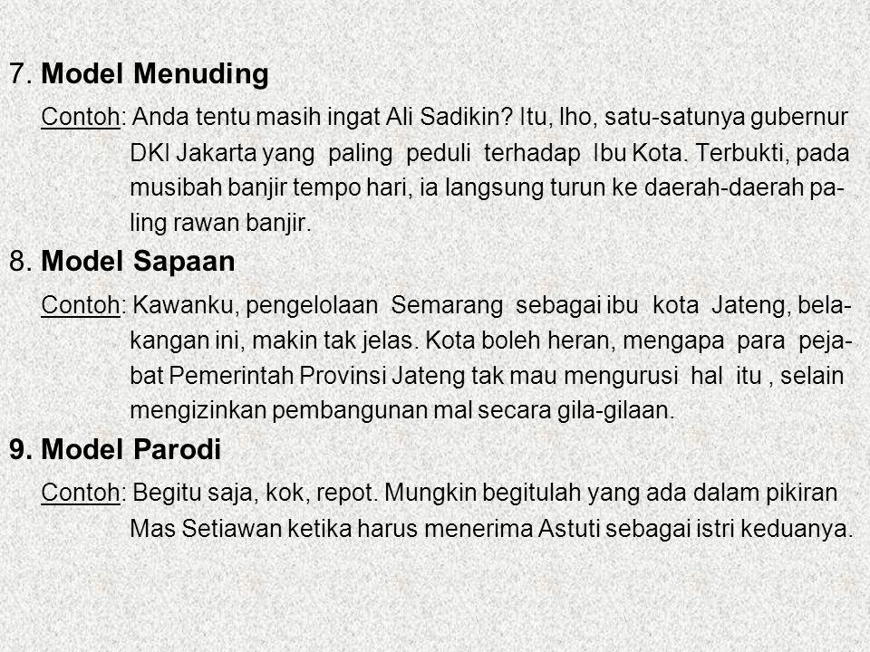 Contoh: Kawanku, pengelolaan Semarang sebagai ibu kota Jateng, bela-