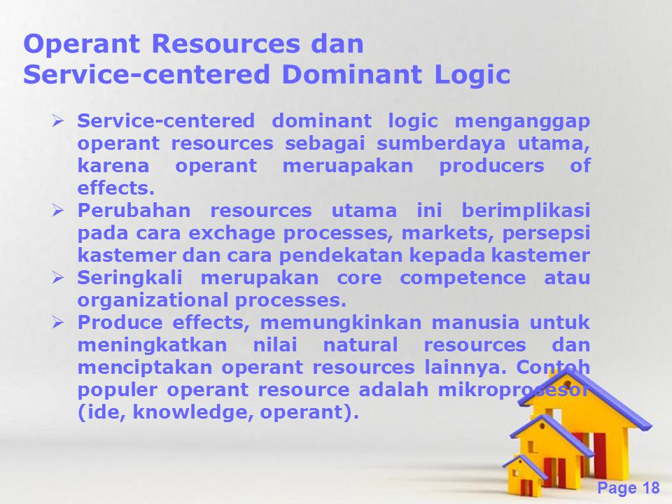 Service-centered Dominant Logic