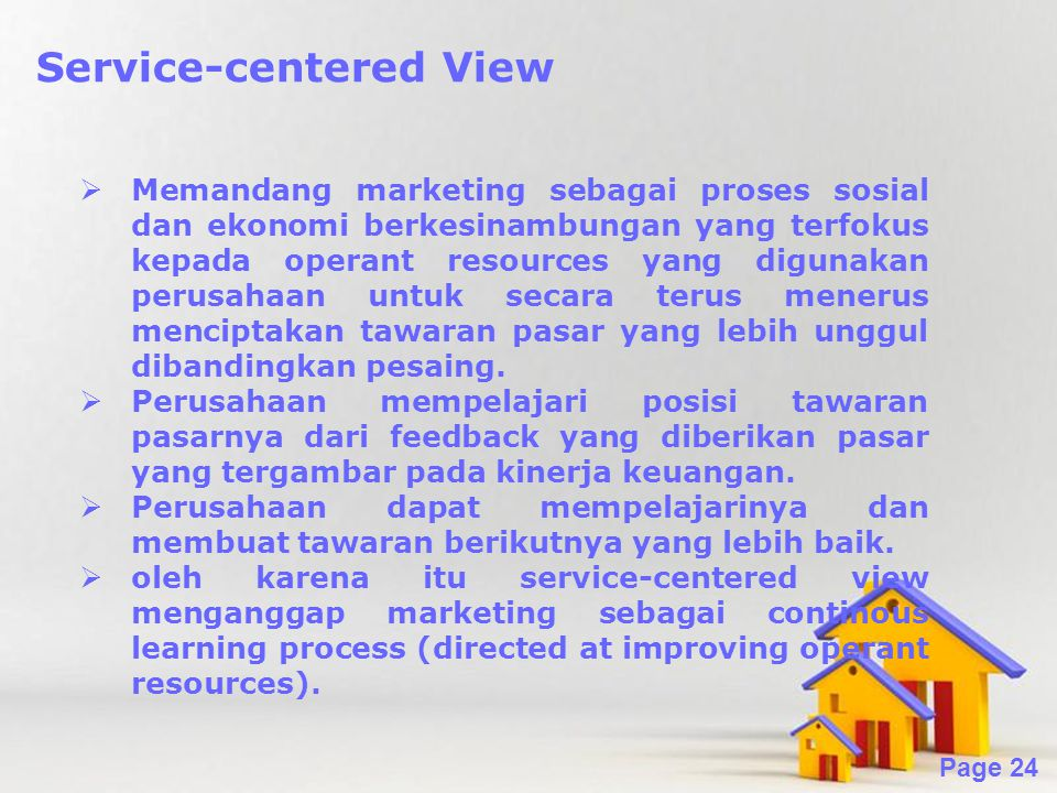 Service-centered View