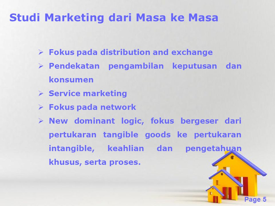 Studi Marketing dari Masa ke Masa