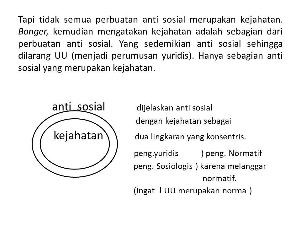 anti sosial dijelaskan anti sosial