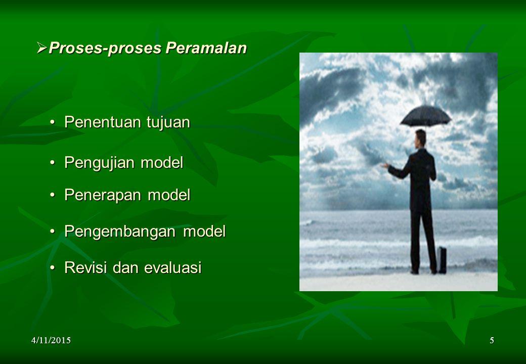 Proses-proses Peramalan