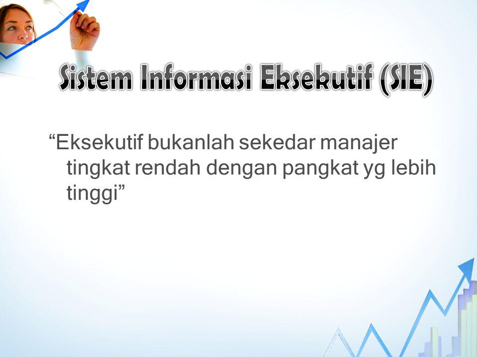 Sistem Informasi Eksekutif (SIE)