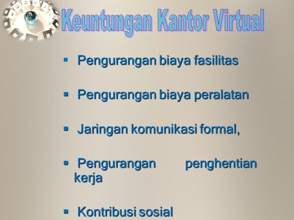 Keuntungan Kantor Virtual