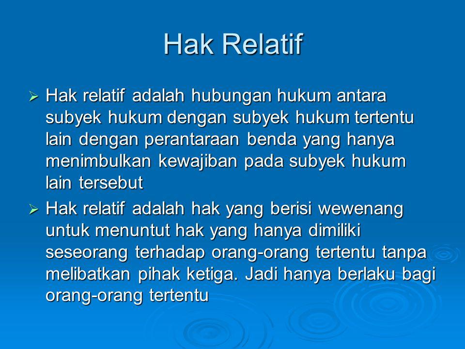 Hak Relatif