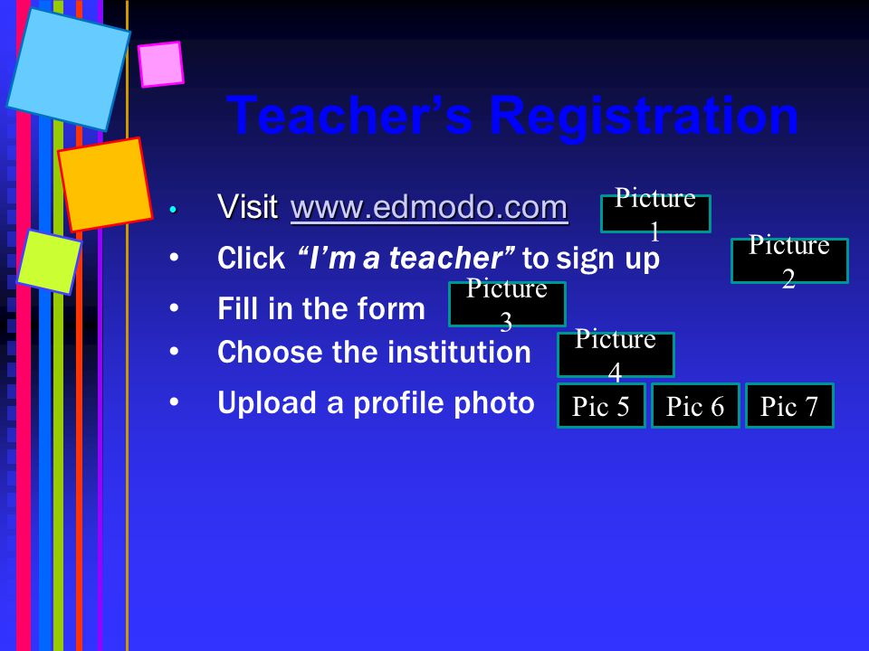 Teacher's Registration