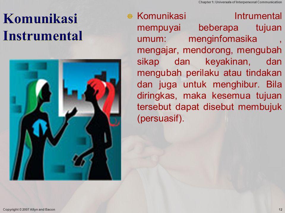 Komunikasi Instrumental