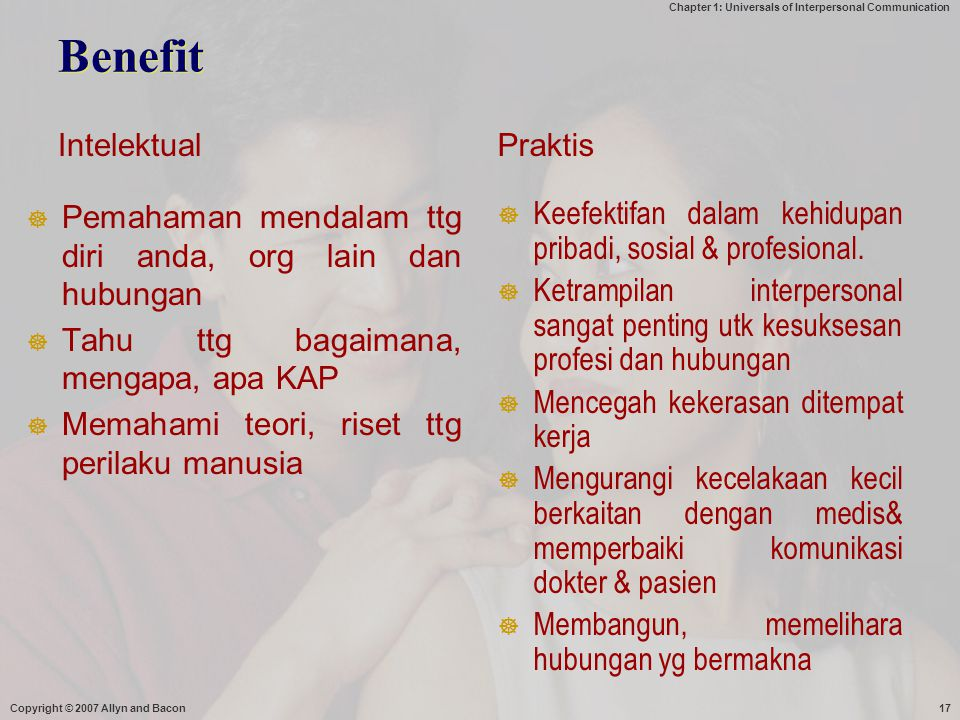 Benefit Intelektual Praktis