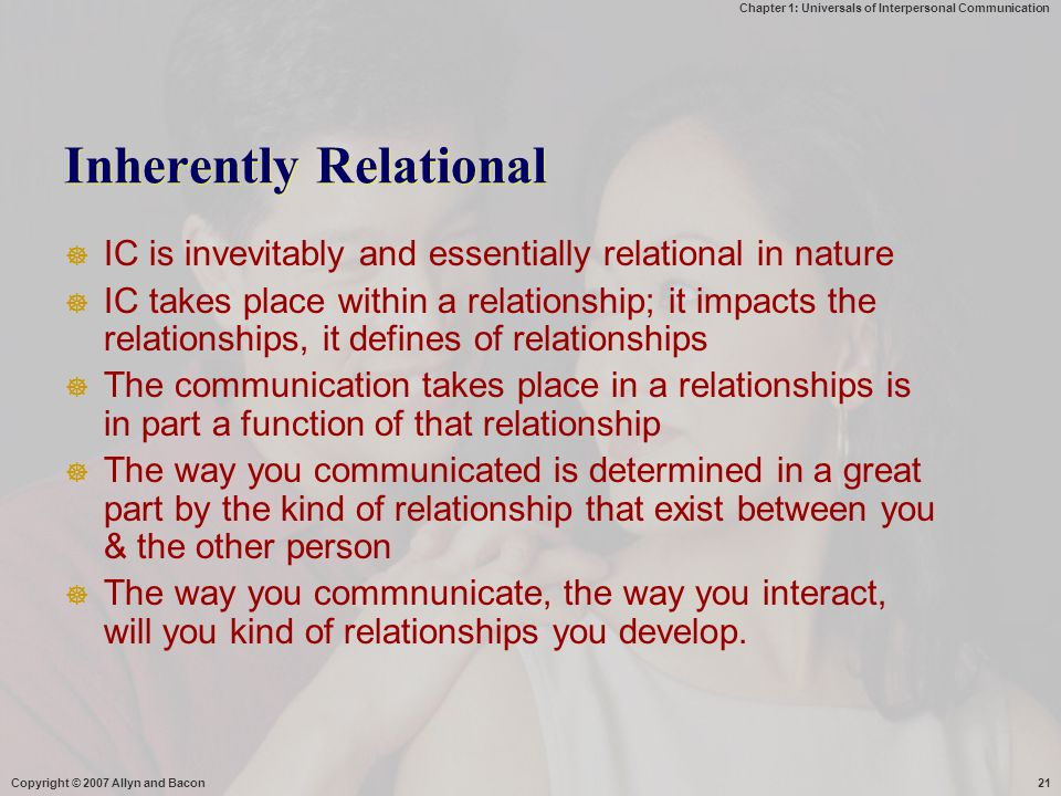 Inherently Relational