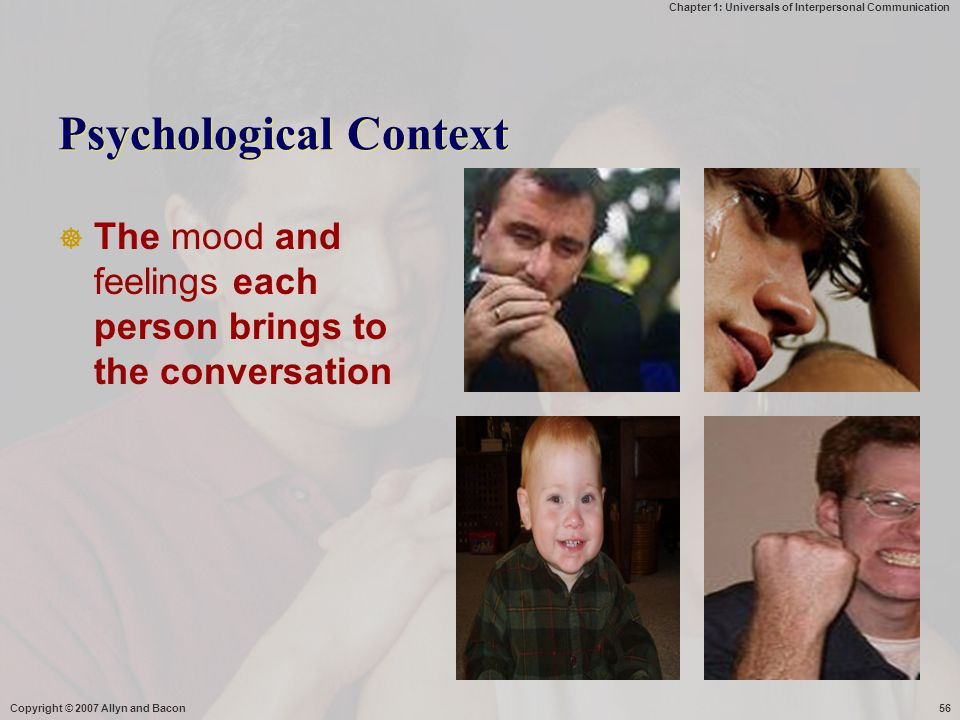 Psychological Context