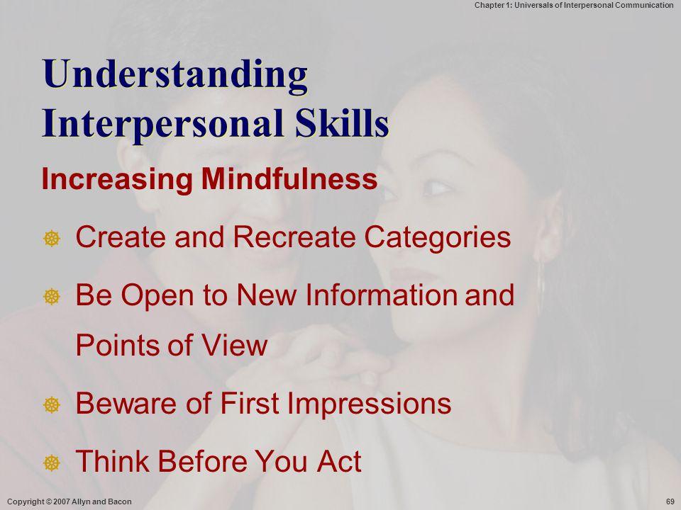 Understanding Interpersonal Skills