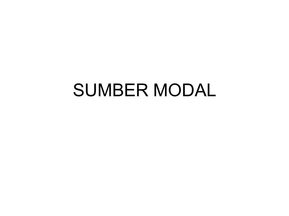 SUMBER MODAL